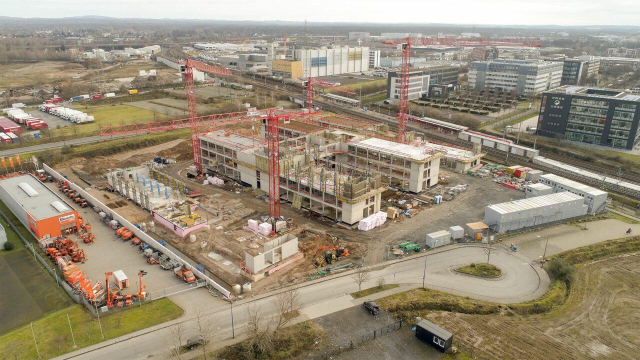 DIBAG startet Bau des Officecenters QUADRA in Köln