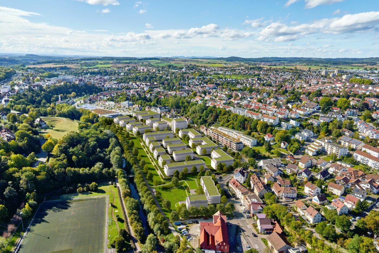 Backnang erhält ein neues Stadtquartier mit vier Bauabschnitten