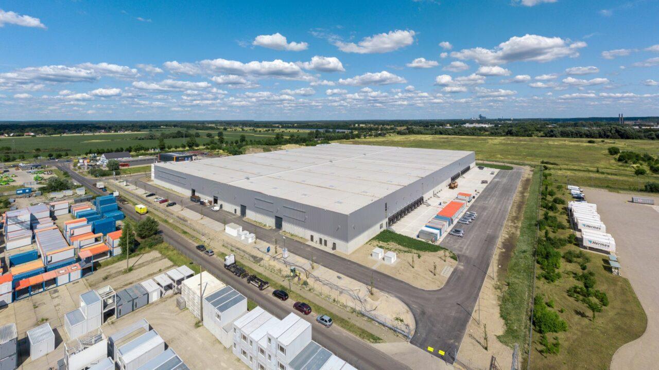 Logistikhalle in Fredersdorf-Vogelsdorf fertiggestellt und bereit zum Bezug